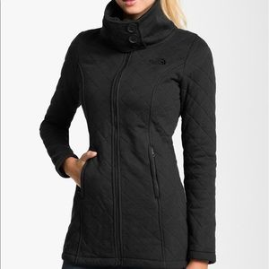 North Face Quilted Fleece Jacket